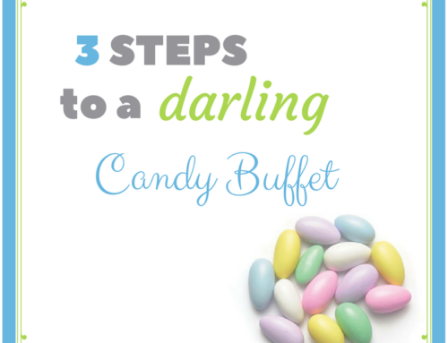 How To: DIY Candy Buffet