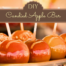 candied apple bar